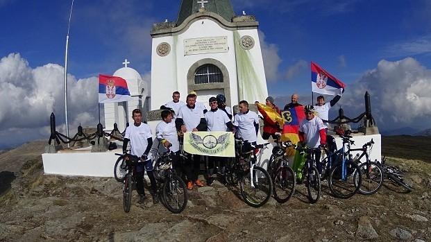 Врањски бициклисти кренули на Кајмакчалан