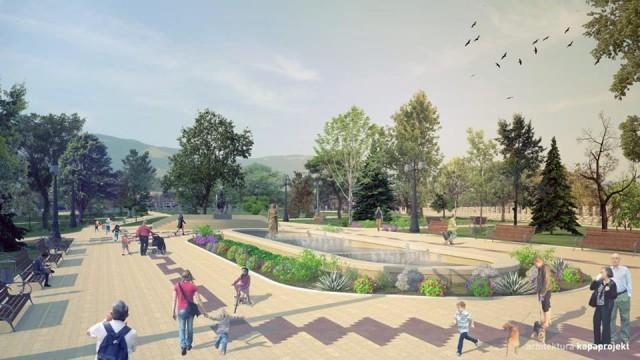 Реконструкција Градског парка у Врању