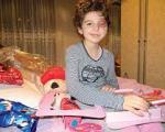 Борба за живот : Мала тешко болесна Анастасија данас путује на зрачење