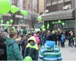 И у Врању полетеле балони за децу оболелу од рака