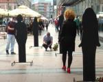 Sećanje na žene žrtve nasilja - nesvakidašnji performans u Nišu