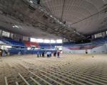 "Zamena parketa u hali ""Čair"" pred Evropsko prvenstvo u košarci za žene"