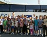 Врањски ученици из породица слабијег материјалног стања, кренули бесплатно на море у Црну Гору