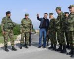 Ministar odbrane na granici sa Republikom Makedonijom