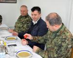 Ministar Đorđević obišao vojne baze na jugu Srbije