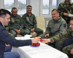 Ministar odbrane u poseti vojnom aerodromu Niš