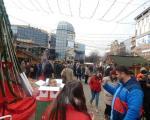 Атмосфера и дочек Нове године у Нишу