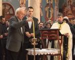 Помен Ђинђићу у Саборној цркви у Нишу