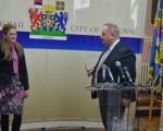 Gradonačelnica Sombora Dušanka Golubović posetila Leskovac