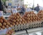 Висока цена јаја на пијацама у Нишу