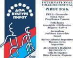 Данас почиње Међународни фолклорни фестивал у Пироту
