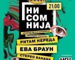 """Нишка """"Нисомнија"""" 29. септембра"""