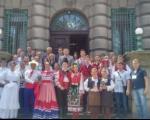 Пријем у Градској кући за учеснике студентског фестивала фолклора