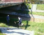 Акција чишћења корита Габровачке реке, радили и затвореници КПЗ-а