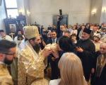 Свету архијерејску Литургију служио владика Арсеније - Градоначелница домаћин славе