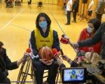 Podrška košarkašima u kolicima