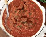 Stari recepti juga Srbije: Domaći gulaš od svinjetine