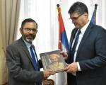 Разговор о ИТ сектору са амбасадором Индије