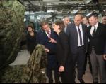 Brnabić otvorila dva nova proizvodna pogona u Vranju