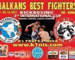 Најбољи кик-боксери Балкана у Нишу