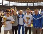 Медаље за младе кик боксере из Врања