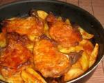 Стари рецепти југа Србије: Свињске шницле на кромпиру