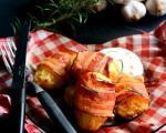 Стари рецепти: Гурмански кромпир умотан у сланину