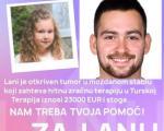 Нишлија Андрија Живковић фудбалер грчког ПАОК-а уплатио цео износ за лечење мале Лане