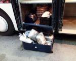 16 килограма марихуане у аутобусу на Мердару