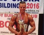 Пет медаља за пет недеља пиротског бодибилдера Милоша Стојановића