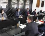 Izmeštanje pruge iz centra, jedna od tema razgovora sa ministrom Momirovićem