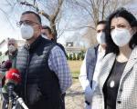 Сотировски; Држава наставља да шаље помоћ, министар Недимовић уручио донацију - гради се лабораторија за тестирање у Нишу