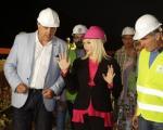 Oбилазак ноћних радова у Грделичкој клисури (видео)