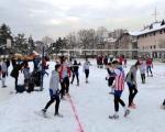 Odbojka na snegu u Prokuplju