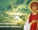 Данас је Свети Пантелејмон