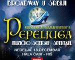 """Бродвејски мјузикл """"Пепељуга"""" 18. децембра у хали Чаир"""