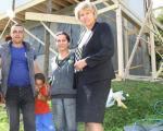 Гради се нови дом за породицу Сарић