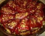 Recepti juga Srbije: Punjene suve paprike mesom i orasima