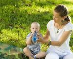 Voda kao sigurna zaštita od dehidracije beba i dece