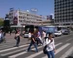 До 21. септембра затворена десна трака у Вождовој улици, због радова на хотелу Амбасадор