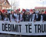 Протест студената у Прешеву