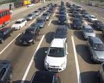 Pojačan saobraćaj, bez velikih zastoja