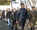 Prvi dan selekcije za prijem profesionalnih vojnika