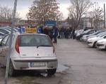 Протест инструктора ауто-школа