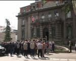 Протест радника у Нишу