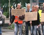 Радници пропалих фирми одустали од пешачења до Београда и од блокаде пруге