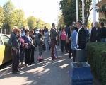 Протест мештана Шљаке у Нишу