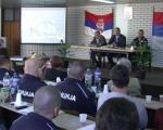 Конференција за новинаре ПУ Врање: Ситуација у Пчињском округу комплексна због миграната