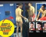 Навијачи сликали голе фудбалере