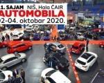 """Sajam automobila, 11. """"Auto moto fest"""" od 2. do 4. oktobra"""
